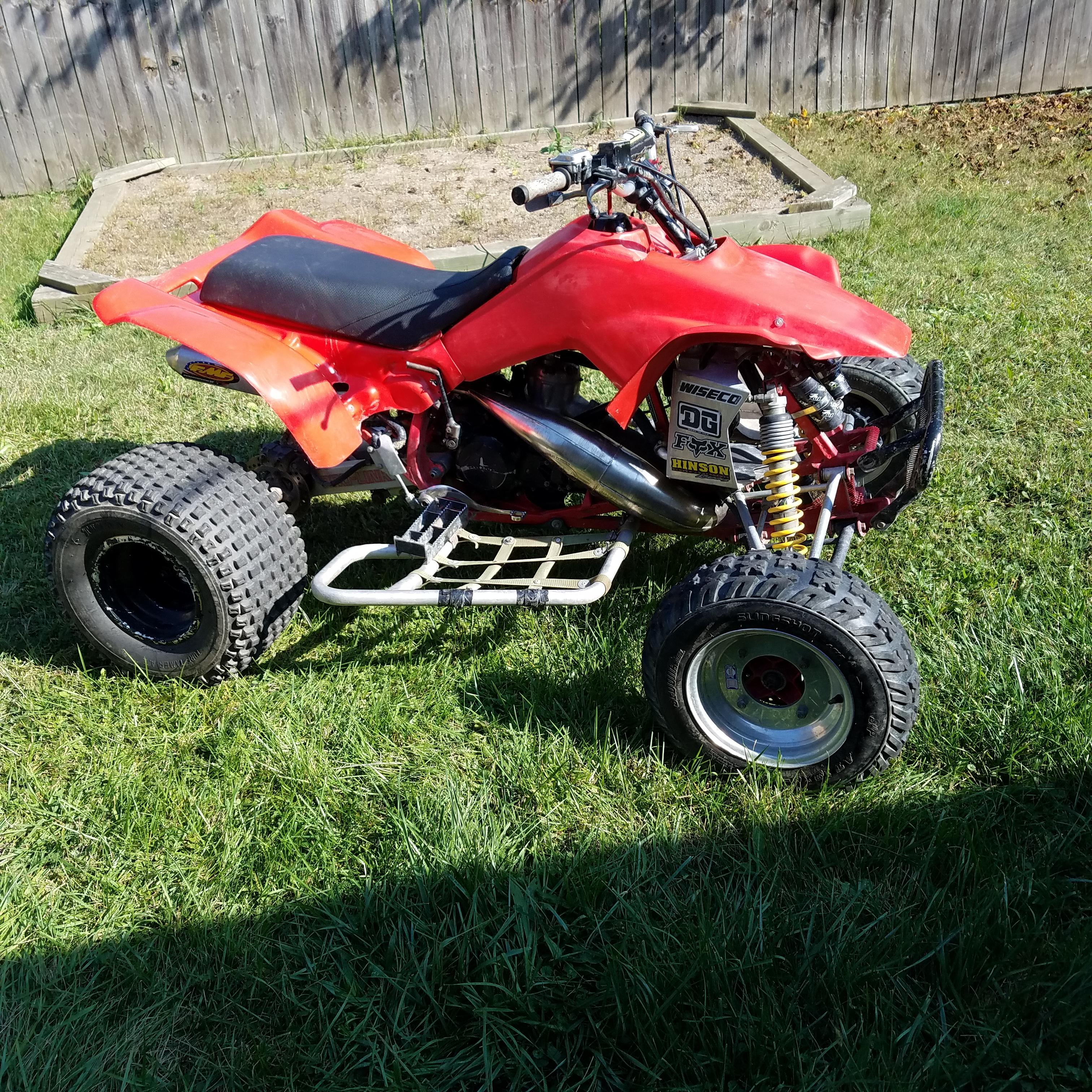 """Honda TRX 250R TRX250R 1.5/""""  Wheel Spacers 1 Pair = 3/"""" Added Width  Alba Racing"""